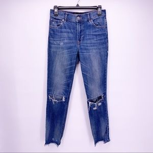 Express High Rise Ankle Skinny Jeans Size 2